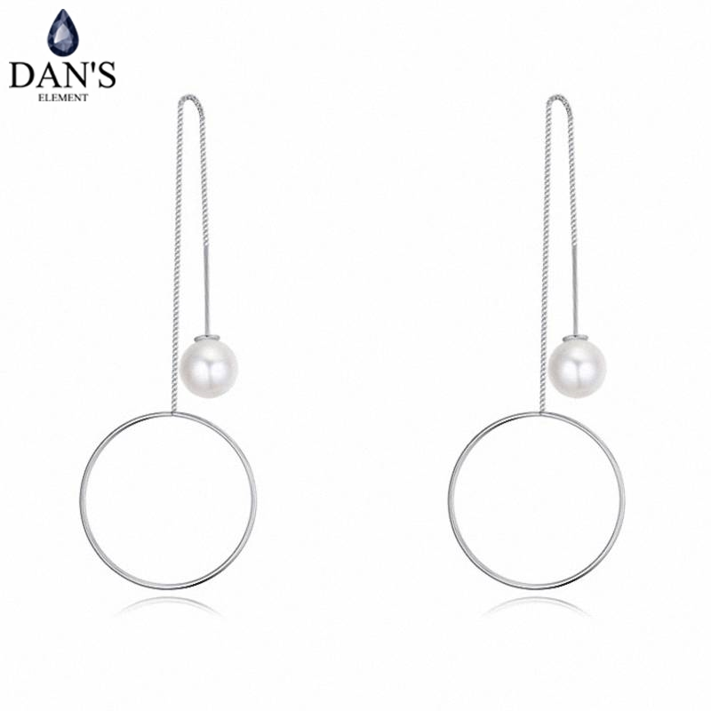 DANS Colors Real Austrian crystals Stud earrings for women Earrings s New Sale Hot Round 124758