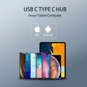 Image 4 - USB C HUB Per iPad Pro 2018 Tipo C HUB Con USB C PD di Ricarica 4K HDMI USB 3.5 millimetri cuffia Martinetti