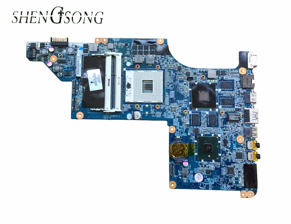 615307-001 Free shipping laptop motherboard for HP Pavilion DV7-4000 DA0LX6MB6F1 605320-001 HM55 DDR3 HD5650 1G Support I7 CPU 628189 001 for hp dv3 4000 dv3 laptop motherboard ddr3 free shipping 100