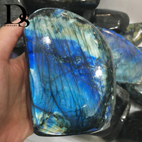 Top! Natural Flash Labradorite Quartz Crystal Stone Original Specimen Moonstone spectrum stone teaching specimens Home Decora