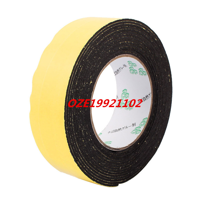 40mm x 2mm Single Side Sealed Shockproof Sponge Foam Tape 5 Meter Length 10m 40mm x 1mm dual side adhesive shockproof sponge foam tape red white