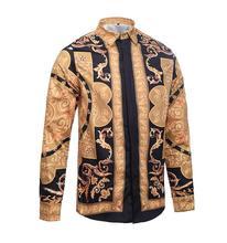 The spring and autumn new cotton shirt casual Plaid Shirt Mens Long Sleeve Shirt british design