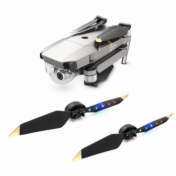 For DJI Mavic pro LED Flash 8331 propellers Low Noise Quick-Release