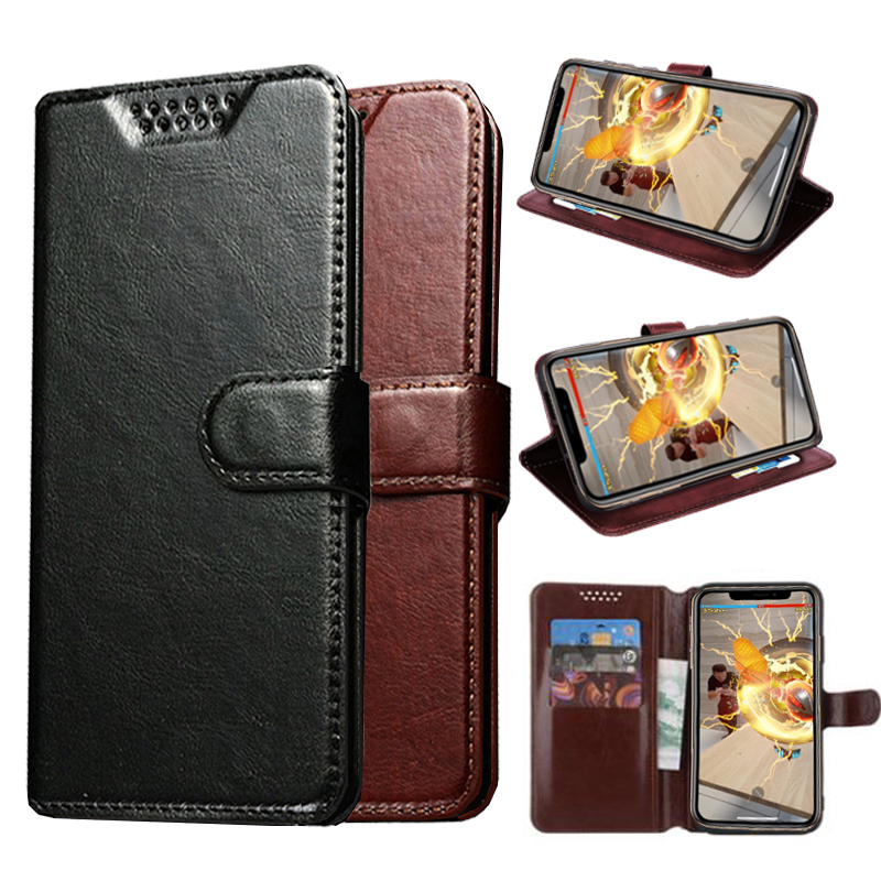 Coque Phone Case for <font><b>Alcatel</b></font> One Touch Scribe Easy 8000A 8000D HD 8008D 8008X Star <font><b>6010</b></font> 6010D T'Pop 4010D Leather Wallet Cover image