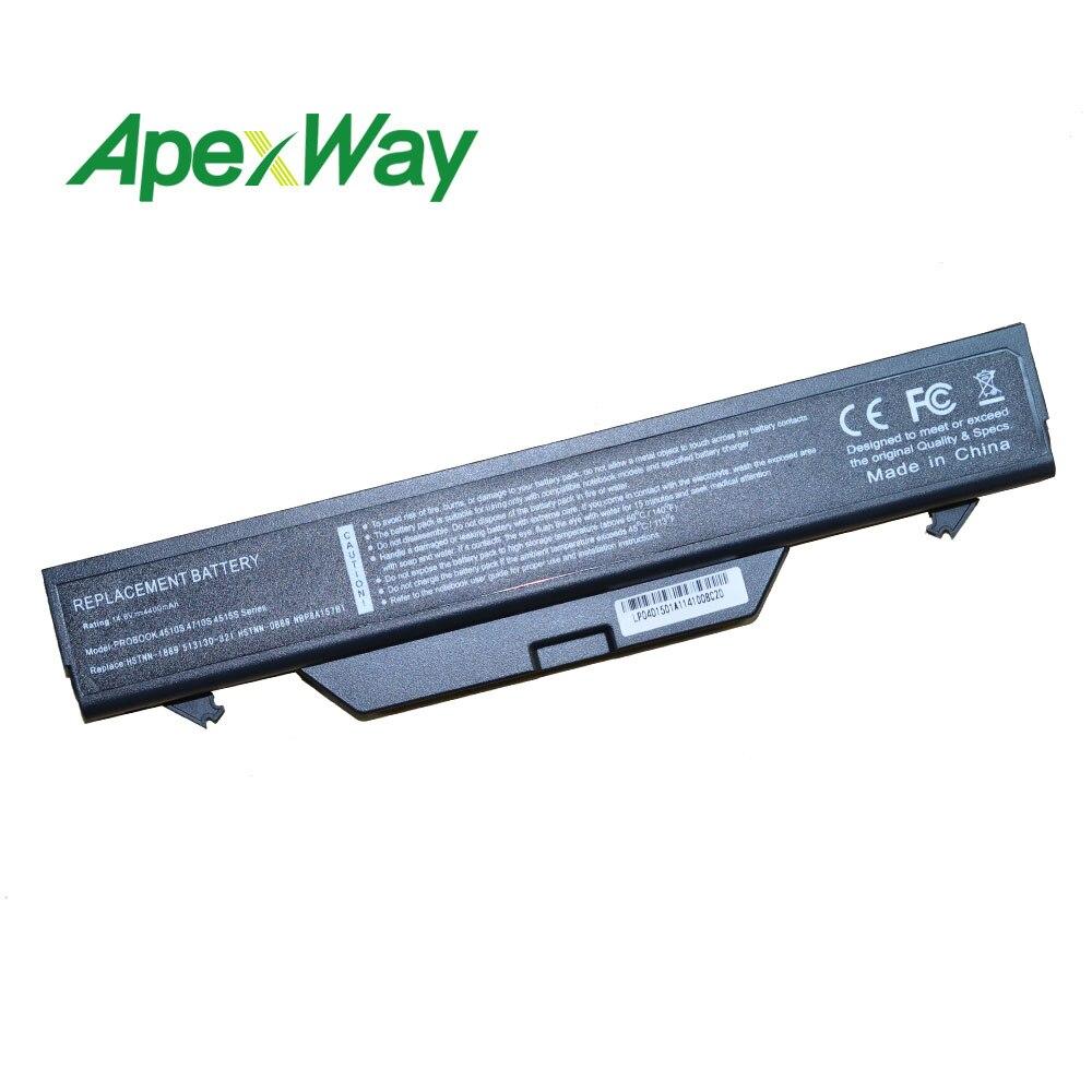4400MAH Battery For Hp ProBook 4510s 4515s 4710s HSTNN-IB89 HSTNN-XB89 HSTNN-OB89 535808-001 593576-001  513130-321 535753-001