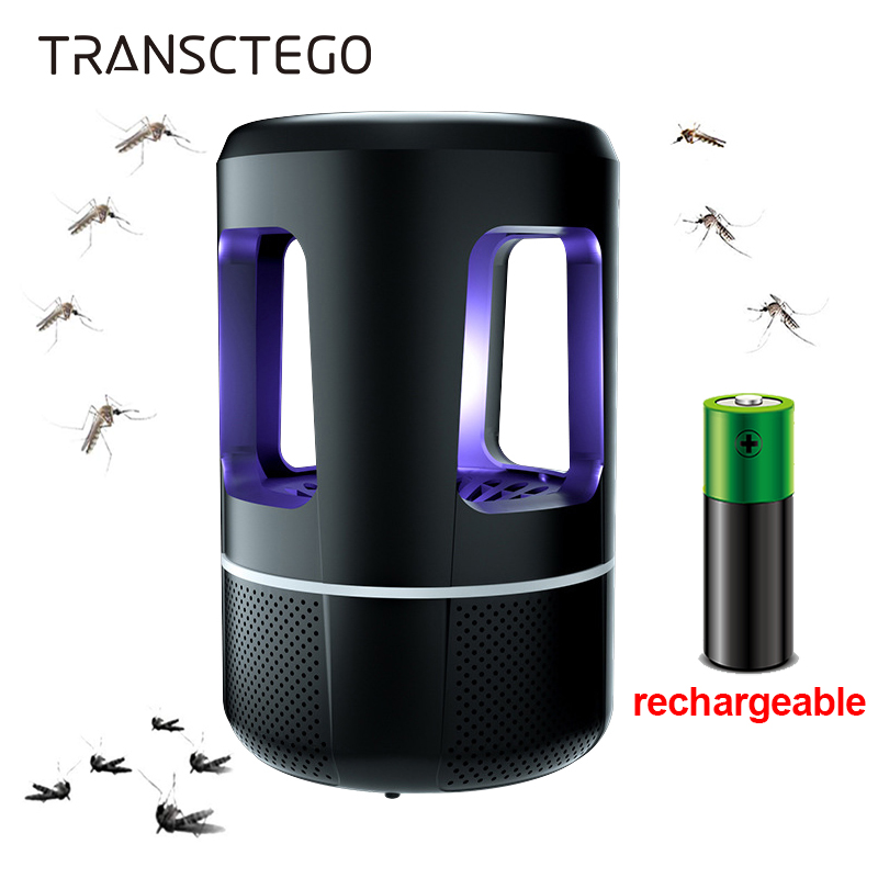 Mosquito Killer Lamp Rechargeable Electric Muggen Insect Killer Bug Zapper USB Light Camping Indoor Outdoor Anti Mosquito Lamp