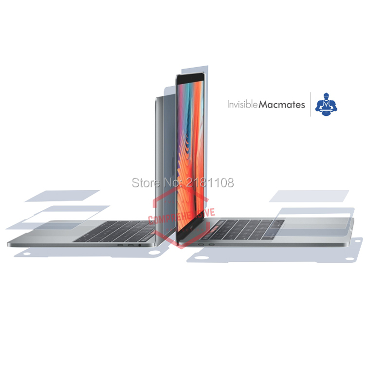 4 in 1 Full Body Protector Invisible Vinyl Decal Skin Sticker Case for Macbook Pro 13 15with/out Touch Bar A1707 A1706 A17084 in 1 Full Body Protector Invisible Vinyl Decal Skin Sticker Case for Macbook Pro 13 15with/out Touch Bar A1707 A1706 A1708