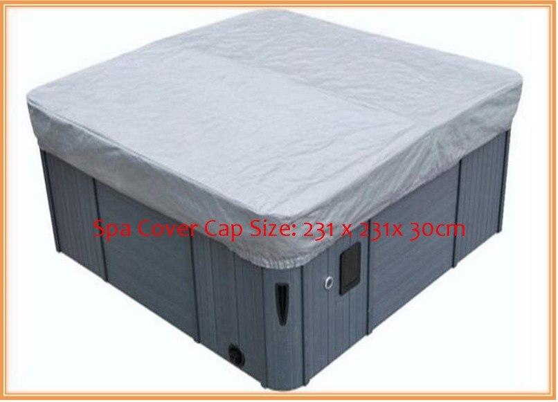 hot tub cover guard& cap,spa bag 231cmx231cmx30cm  fits dynasty,arctic,vita,master spa hot tub cover guard