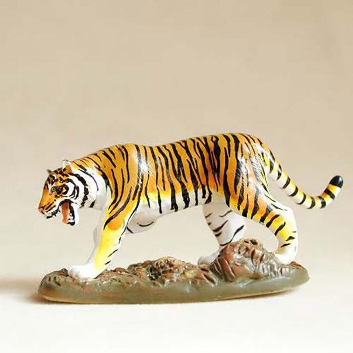Original Japan Genuine Wild Animal Model Siberian Tiger Collectible Figurine Figure Toy Kids Gift Educational Toy