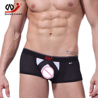 3pcs/lot Nylon Mens Boxers High Quality Boxer Shorts Breathable Sexy Men Underwear Slip Homme Men'S Underwear 2010 PJ