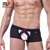 3pcs/lot Nylon Mens Boxers High Quality Boxer Shorts Breathable Sexy Men Underwear Slip Homme Men'S Underwear 2010 PJ