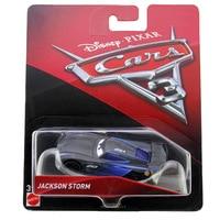 Disney Pixar Cars Cars 3 Lighting McQueen Jackson Storm Cruz Ramirez Diecast Metal Alloy Model Cars