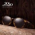Clásicos Polarizadas gafas de Sol de Las Mujeres Shades Unisex Gafas de Acetato de Diseñador de la Marca Ronda Gafas de Sol de Conducción Oculos AT8001