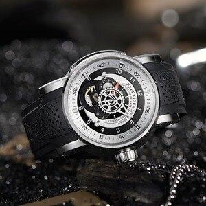 Image 2 - 2020 neue Riff Tiger/RT Top Marke Sport Uhr Männer Wasserdichte Designer Automatische Uhren Rubber Strap Militär Uhren RGA30S7