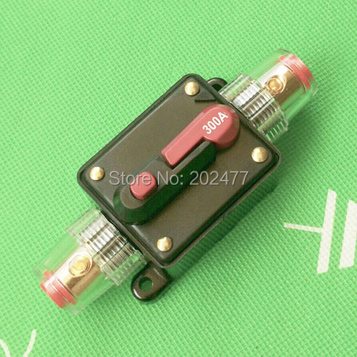 Auto Replacement Car Marine 70A Circuit Breaker Reset Switch Fuse Holder 12V-24V