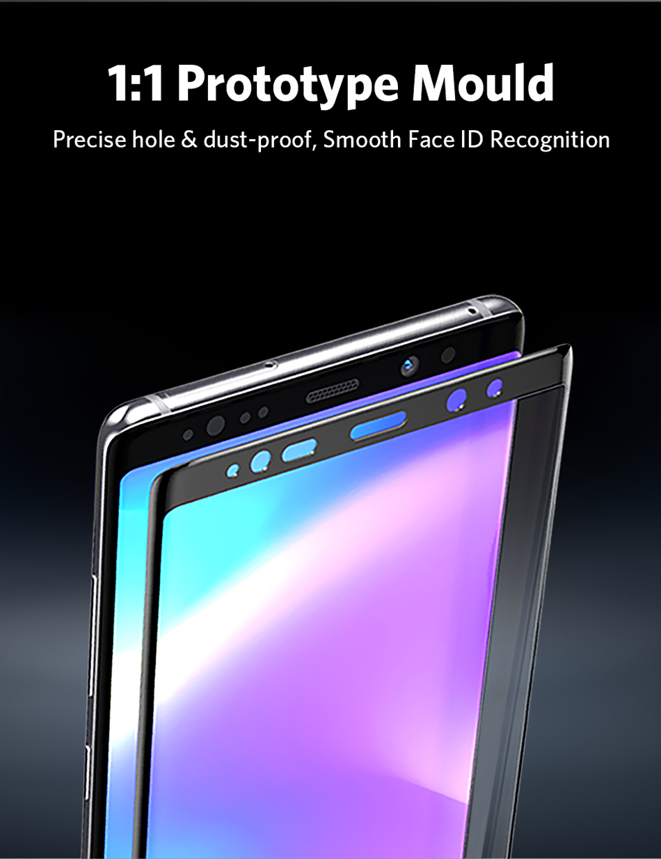 Benks Full Cover Tempered Glass 9H For Samsung Note9 0.3mm Thin Protector Screen Front Film (4)