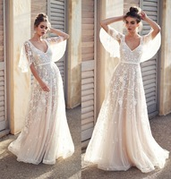 Real Photot White Long Evening Dress Ever Pretty New A line Backless Sexy Party Goewns For Wedding Guest Fast Shipping