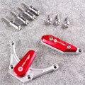 КРАСНЫЙ Для Yamaha YZF R1 09-12 Мотоцикла Двигатель Статора Крышкой Слайдер Протектор 2009 2010 2011 2012 Алюминиевый Прочный