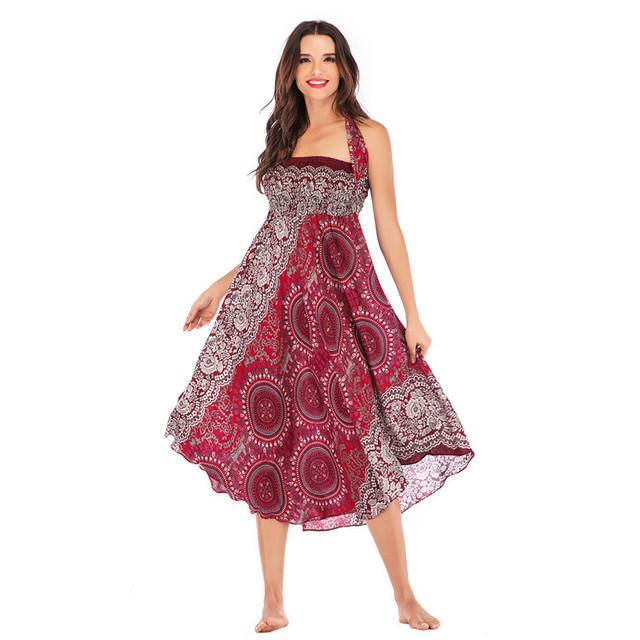 Womens Hippie Bohemian Gypsy Skirt