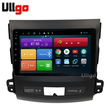 9 inch Android 8.1 Car Head Unit for Mitsubishi Outlander 2006-2012/Peugeot 4007/Citroen C-Crosser with BT RDS Radio Mirror-link