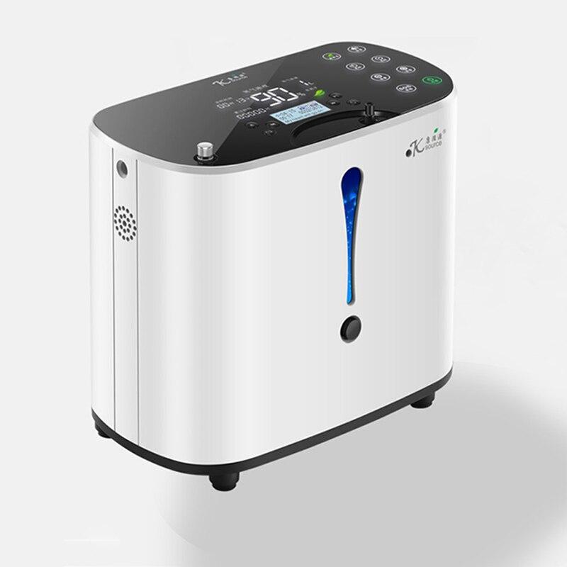 In Lager 93% hohe reinheit Sauerstoff Konzentrator 1-6L Einstellbar Tragbare Sauerstoff Maschine Home Reise Verwenden oxigeno medicoe AC110-220V