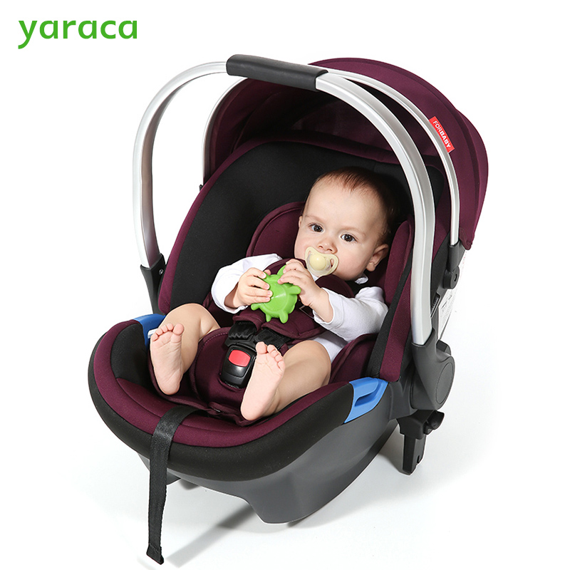 Baby Car Seat For Newborns Adjustable Baby Safety Car Seat Infant Portable Basket With 3-points Seat Belts For Kids 0-9 Months soft infant crib bed stroller toy spiral baby toys for newborns car seat hanging bebe bell educational rattle toy for gift