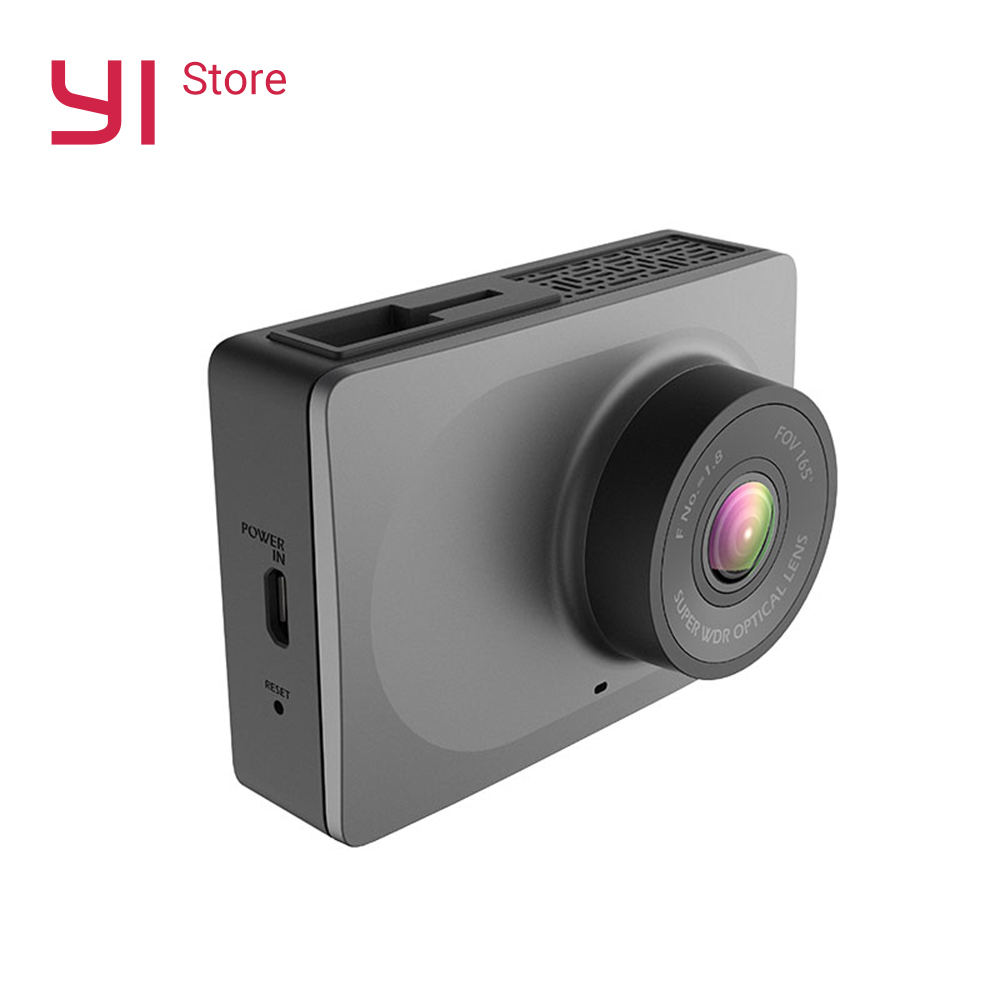 """Купить на aliexpress YI смарт-dash Камера Wi-Fi Ночное видение HD 1080 P 2,7 """"165 градусов 60fps ADAS безопасный напоминание"""