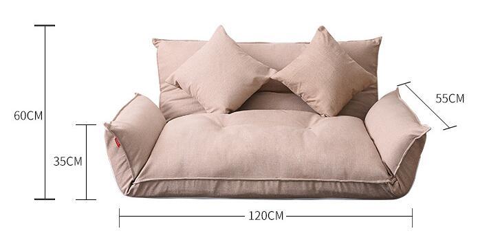Floor Furniture Reclining Japanese Futon Sofa Bed Modern Folding