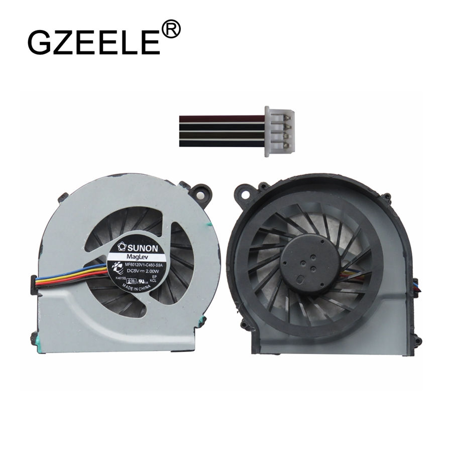 GZEELE Laptop cpu cooling fan for HP Compaq CQ42 G42 CQ62 G62 for Pavilion g4 HSTNN-Q72C Series Notebook Fan Cooler CPU 4 Lines laptop cpu cooler cooling fan for macbook pro retina 15 a1707 left right side fan set replacement late 2016