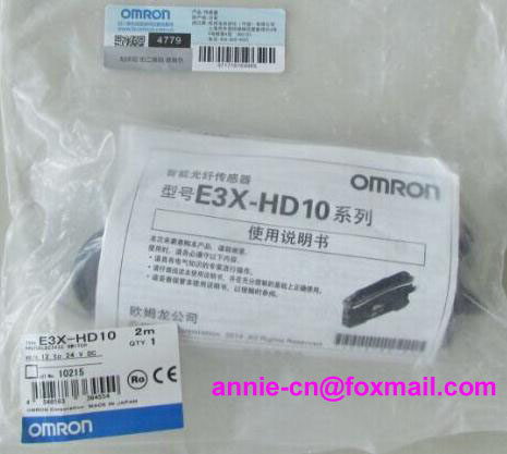 ФОТО New and original  E3X-HD10  ORMON  Photoelectric switch   Optical fiber amplifier    12-24VDC   2M