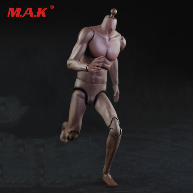 1/6 Scale Black Skin Color Super Sports Male Movable Body Figure NO.T01 High Version 28.5cm Collections