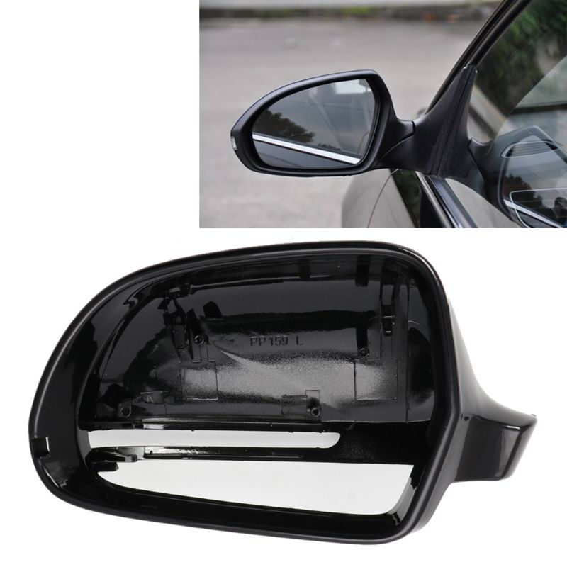 Left hand passenger side for Volvo V70 2007-2016 Wide Angle wing mirror glass