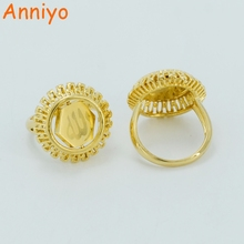 Arabic Name Ring Gold Color Islam Rings for Women Jewelry Muslim Gifts (Can Not Custom Name)