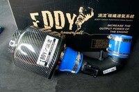Air Intake System Carbon Fiber Intake Filter For 2008 2012 Honda City 1 5