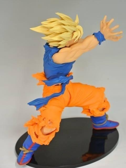 Dragon Ball Z Action Figures Son Goku Super Saiyan Dragonball Goku Kamehameha 135mm Bola De Dragon dragonball z figures