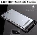 """Оригинал LUPHIE удивительно высоко окисленных алюминиевого Redmi note 3 pro бампер металла рамка для xiaomi redmi note3 случае жесткого 5.5 """"премьер"""