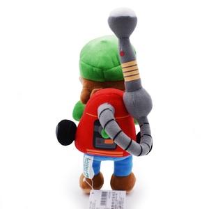 Плюшевые игрушки супер-Mario Luigi, 22 см, с тегом, для кукол, особняка 2, Luigi, плюшевые игрушки для рождественского подарка