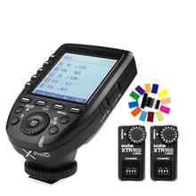 Godox XPro-C Transmitter + 2x XTR-16S Receiver Flash E-TTL HSS 2.4G Wireless X System for Canon DSLR Godox V850 V860C