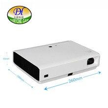 Todo el mundo Ganancia de Bolsillo DLP de Cine En Casa Proyector Brillo 500 ANSI LMS Larga vida LED Full HD 3D Soporte 1080I 1080 P DH-A900S