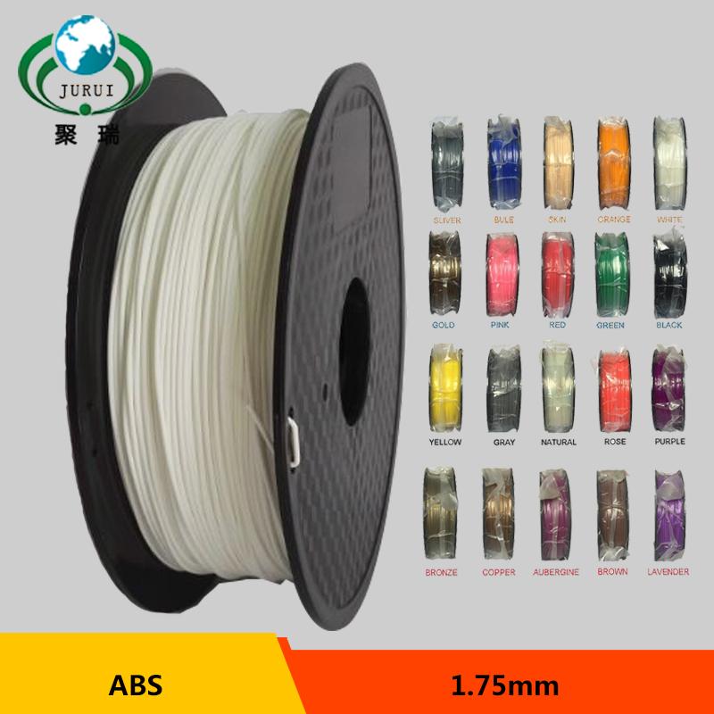 Prix pour ABS 1.75mm 3D imprimante Filament 1 kg/2.2lbs en plastique 3D impression Consommables Matériel filamento
