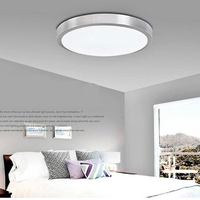 GLW 12W 18W 8W Luminaria Lamparas De Techo Led ceiling Lights for Living Room Kitchen 110V 220V Plafonnier Warm/Cold white Acryl