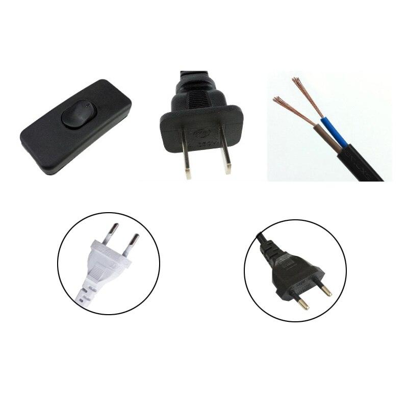 1,8 м светодиодный диммер, кабель, светильник, модулятор, лампа, Линейный диммер, контроллер для настольной лампы, штепсельная вилка ЕС/США, 220 В, электрический провод