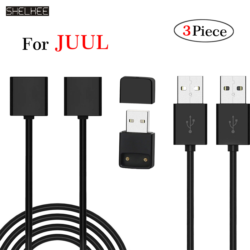 SHELKEE JUUL USB Charger Magnetic Charger USB Cable Fast USB