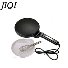 JIQI Electric Crepe Maker Pizza Machine Pancake Machine baking pan Cake machine Non-stick Griddle kitchen cooking tools 900w EU