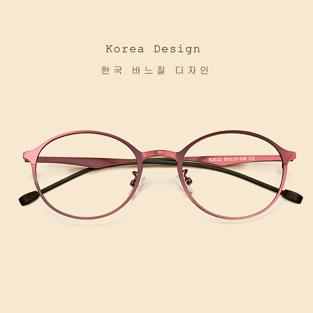 0ddfd3842a1 LIYUE girl s clear lens eyeglasses Round metal optical frame men spectacle  plain Glasses 2017 New Arrival