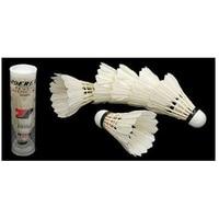 Оптовая продажа 5X6 шт белые перьевые воланы для бадминтона
