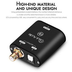 Image 2 - Nobsound Mini USB Optical Coaxial Converter XMOS 208 อินเทอร์เฟซดิจิตอลDSD DOP 192KHz