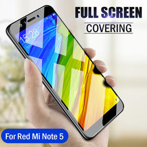 Moopok 9D Screen Protector Tempered Glass For Xiaomi Redmi 4X Note 6 5 5A Protective Glass For Redmi 5 Plus 5A 6 Pro 4X Film