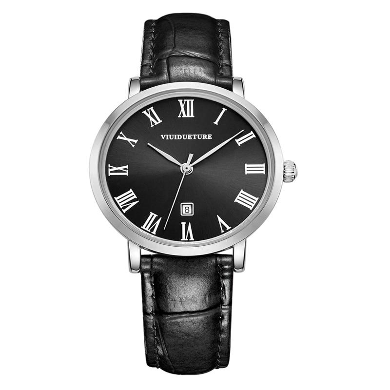 ФОТО Cool Luxury Women Watch Women Leather Quartz Wristwatch VIUIDUETURE Brand Ladies Dress Watches Reloj Mujer Montre Femme