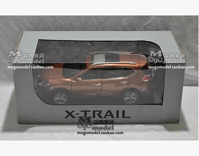NUEVO NISSAN X-TRAIL 2014 origen de aleación modelo de coche diecast 1:18 SUV Xtrail límite colección de Juguete de regalo de Oro venta caliente simulación